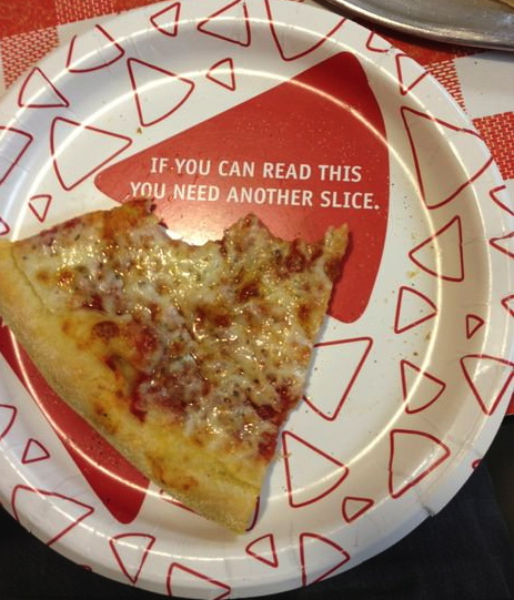If you can read this you need another slice plate
