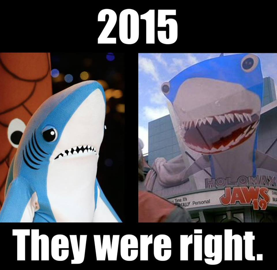 2015 left shark back to the future