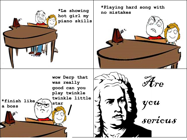 Piano rage comic