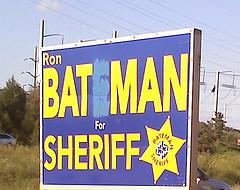 Batman for sheriff