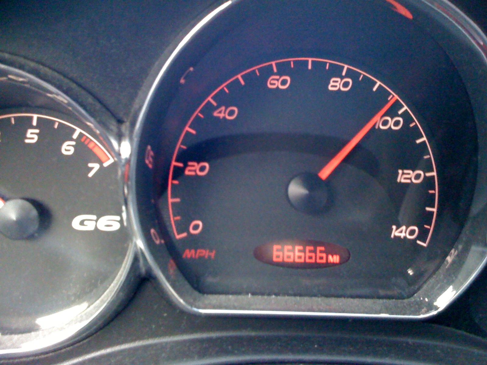 66666 miles