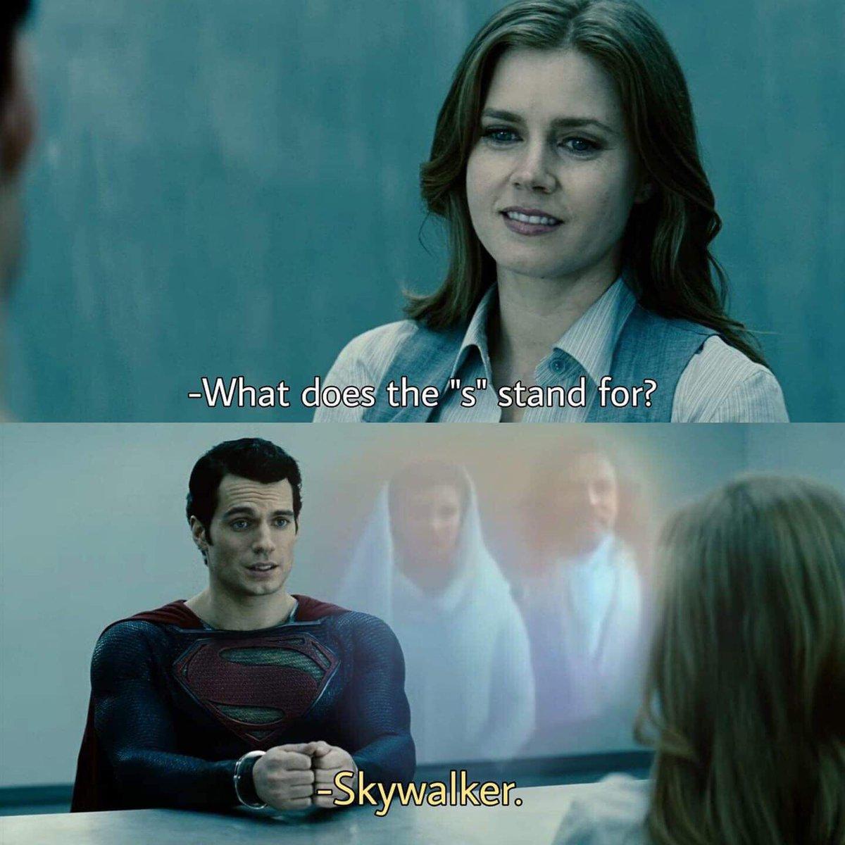 Superman s stand for Skywalker
