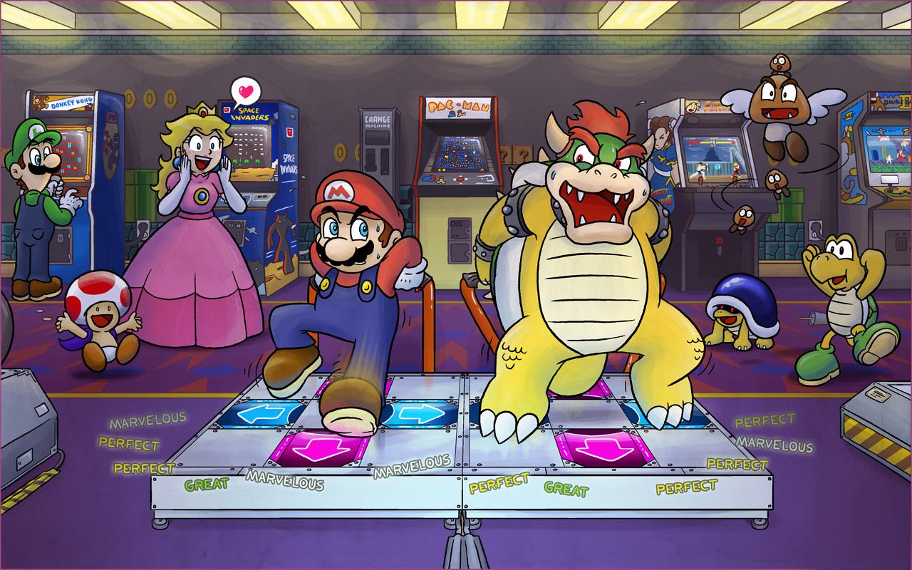 Mario Dance Dance Revolution