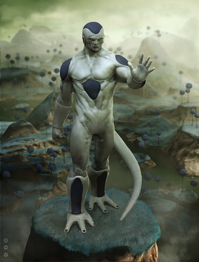 Dragon Ball Z real life Frieza