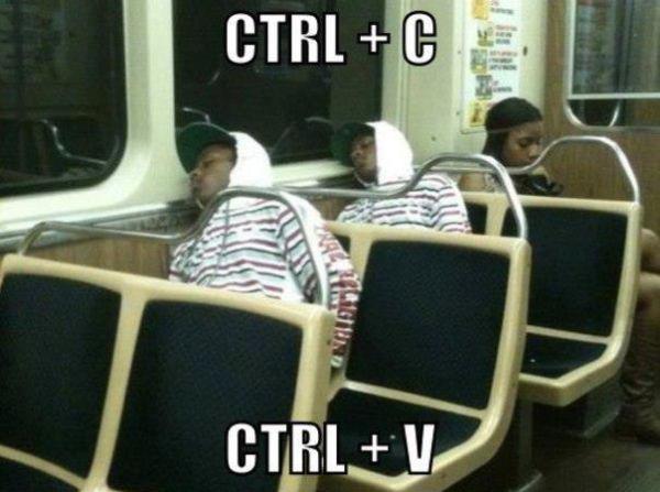 CTRL-C CTRL-V