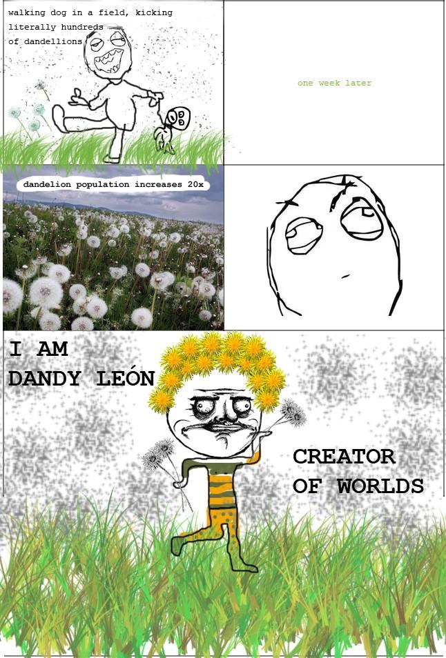 Dandy Leon creator of worlds
