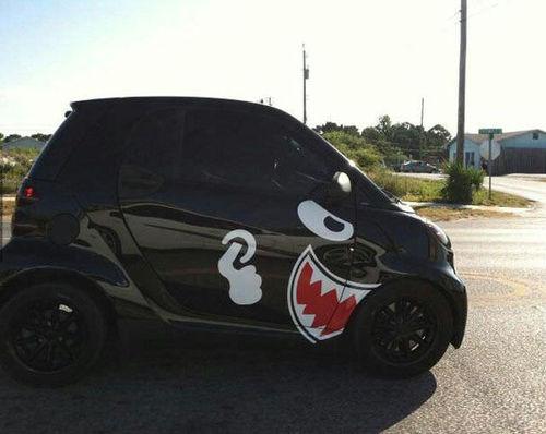 Bullet bill car