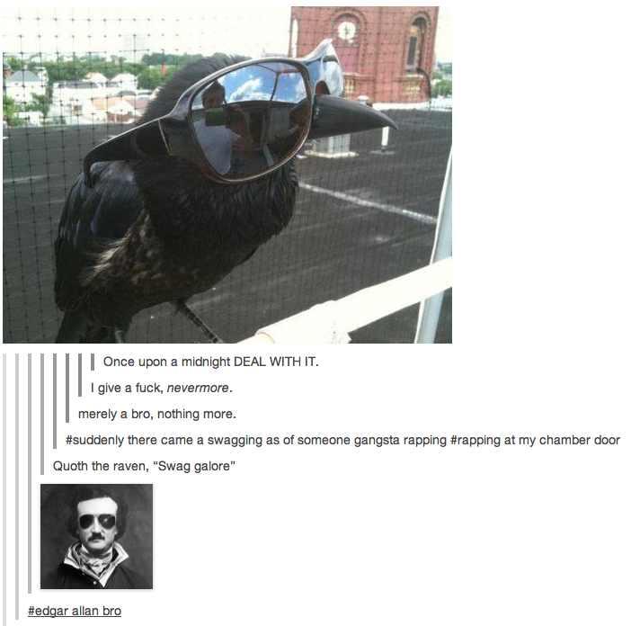 Raven swag