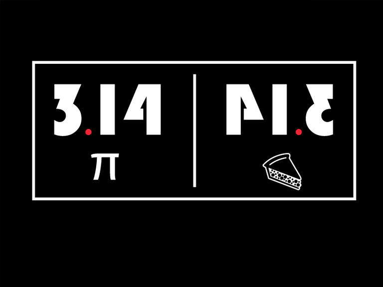 Pi pie mind blown