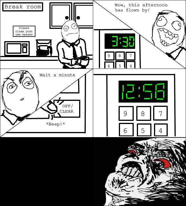 Microwave clock fail