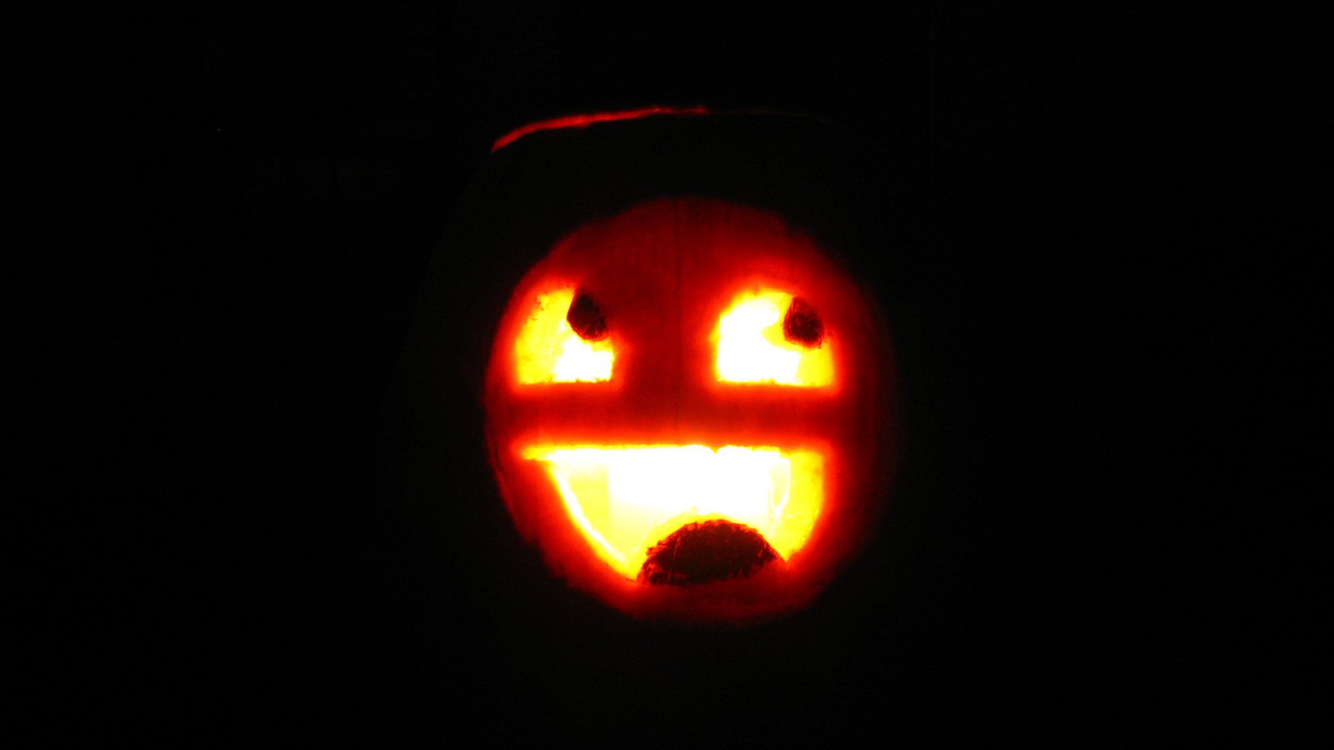Awesome Face Pumpkin Carving