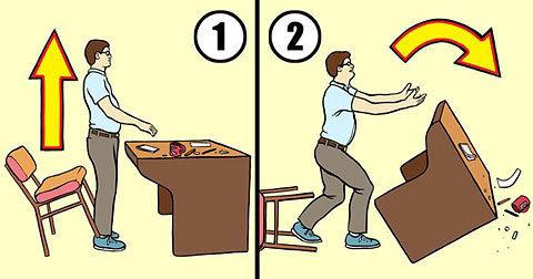 Table flip instructions