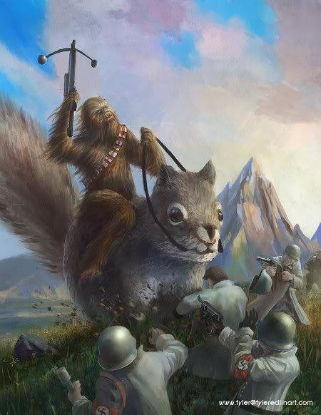 Chewbacca squirrel