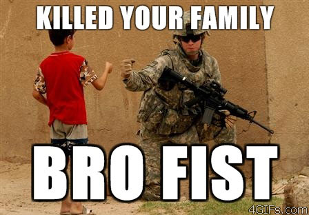Bro fist army
