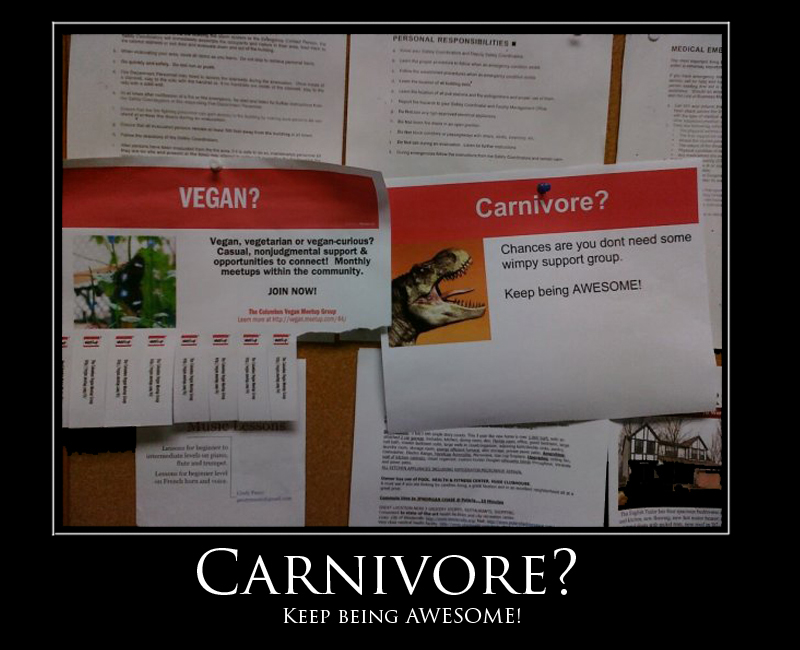 Awesome carnivore
