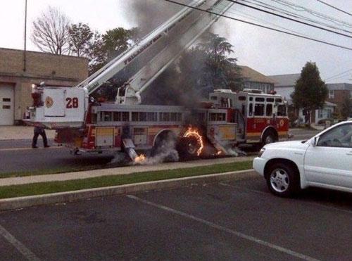 Firetruck fail