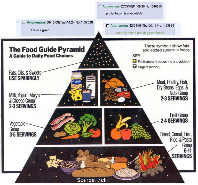 Food pyramid 4chan