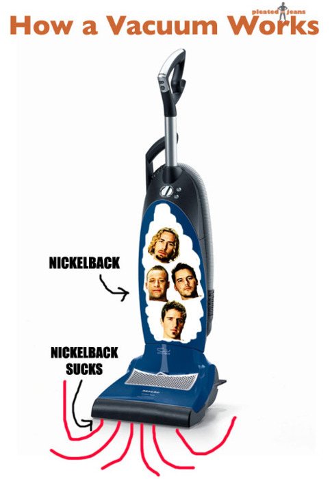 Vacuum Nickelback