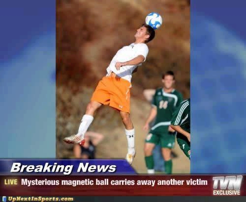 Mysterious magnetic ball carries away another victim