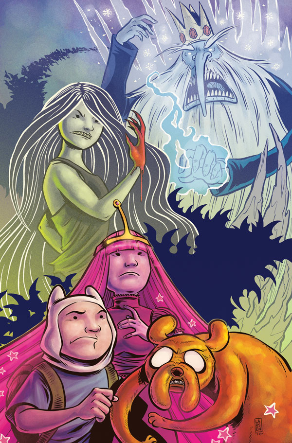 Realistic adventure time