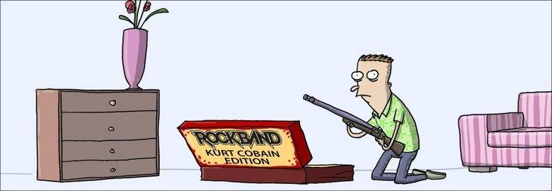 Guitar Hero Kurt Cobain edition