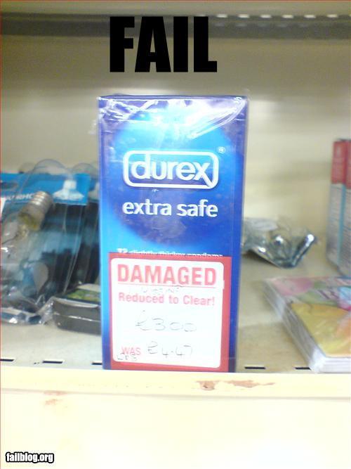 Condom fail