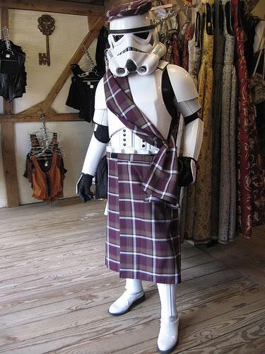 Stormtrooper in a kilt