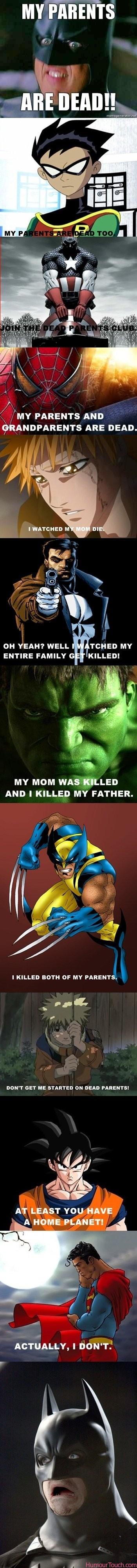 Batman my parents are dead
