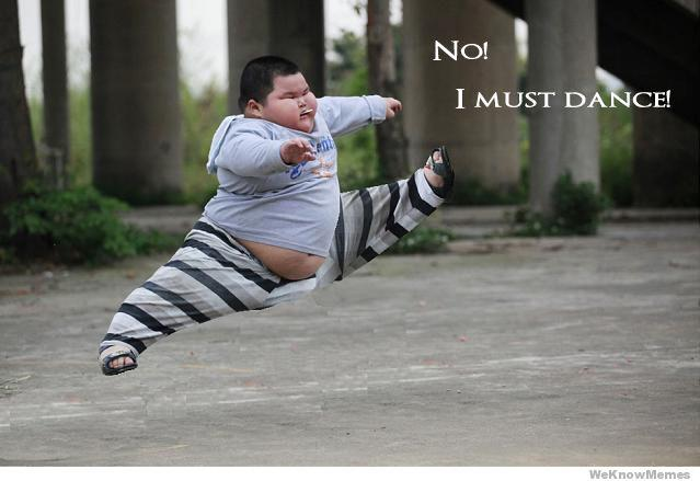 Must dance fat kid