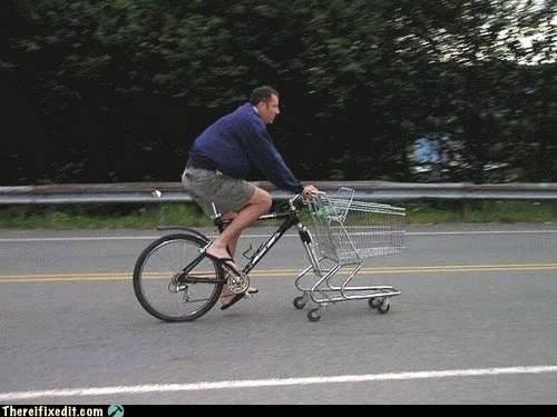 Ghetto bike fix