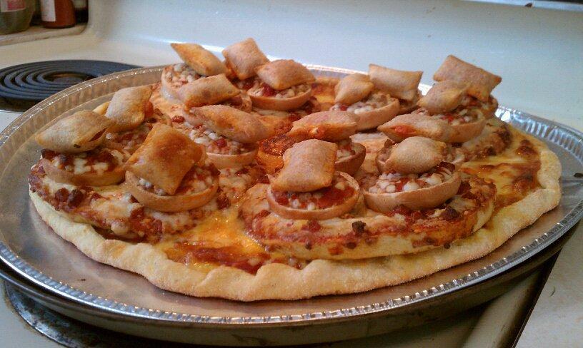 Fast food pizza