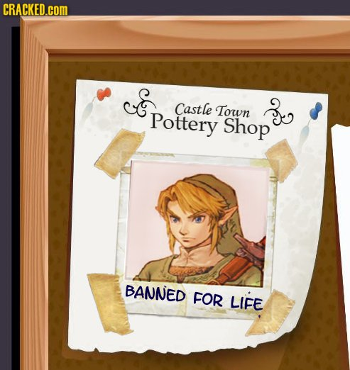 Pottery shop banned for life