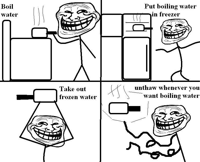 Troll boiled water