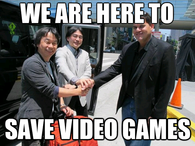 We are here to save video games