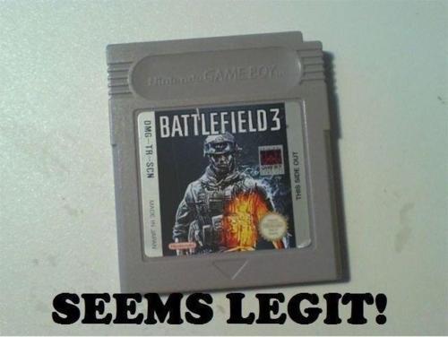 Game Boy Battlefield 3