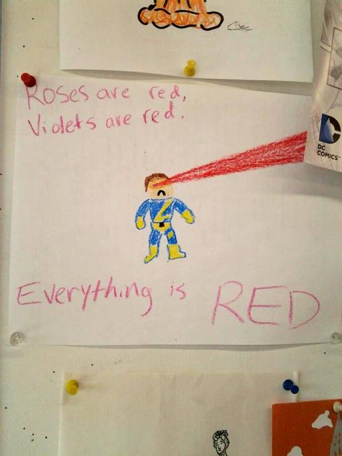 Everything is red