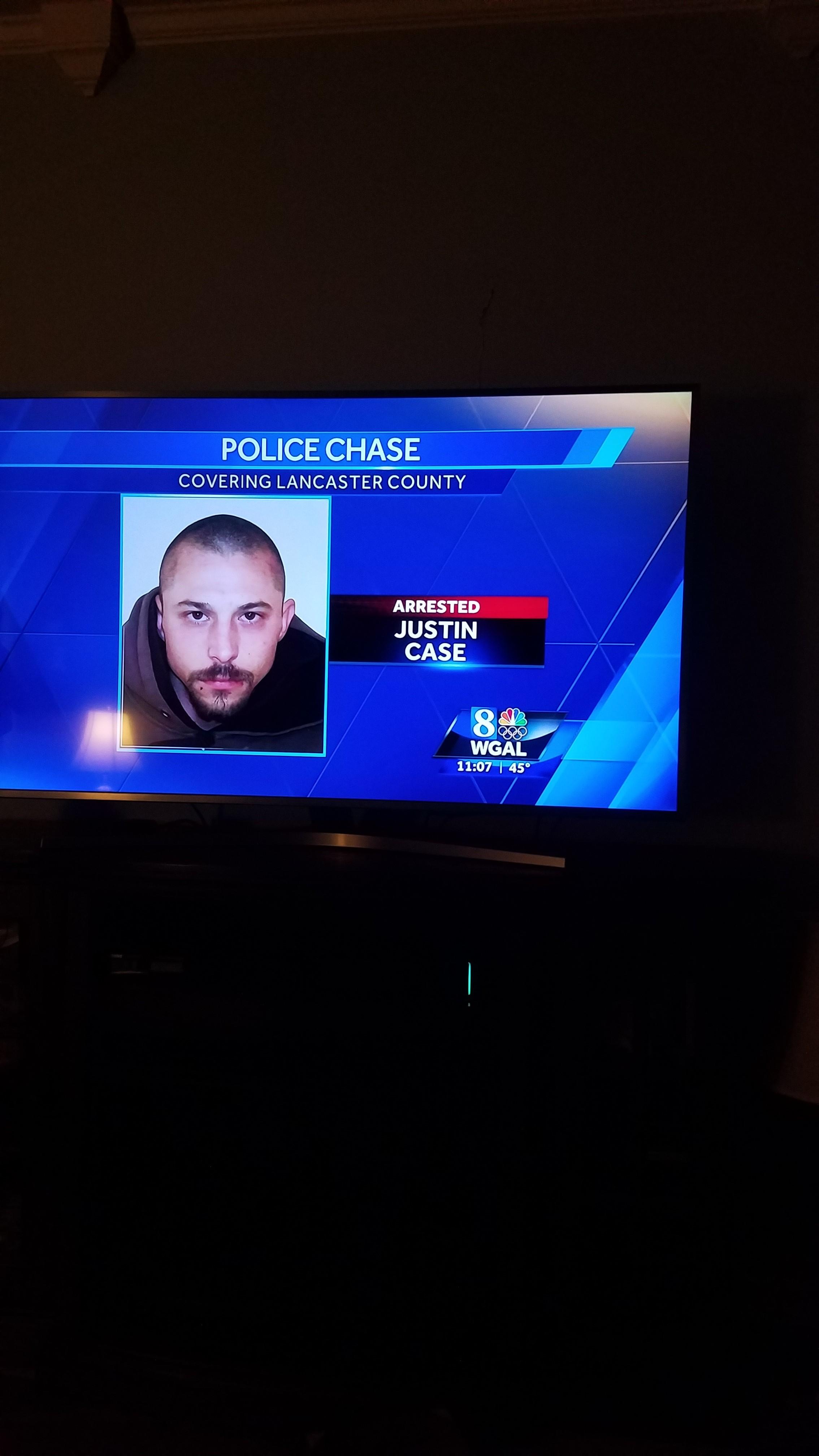 Arrested Justin Case