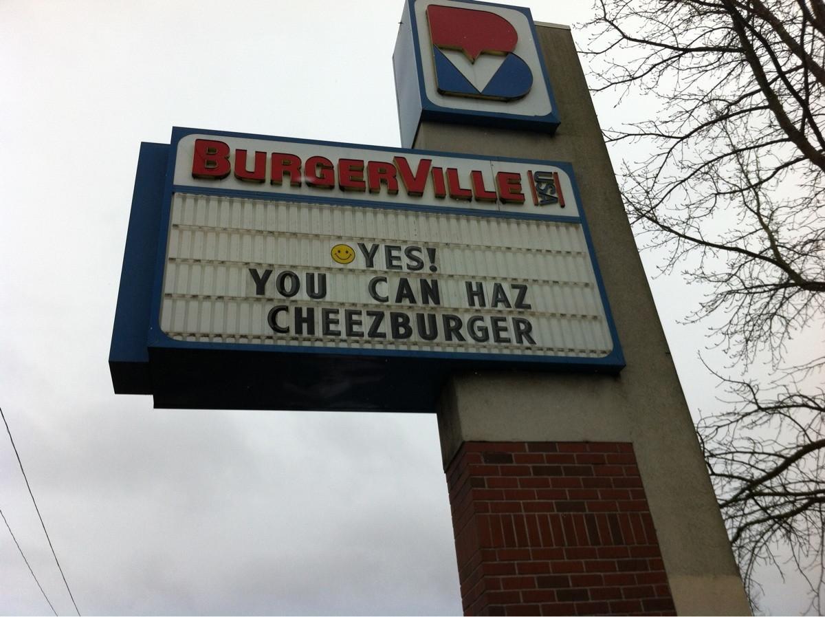 You can haz cheezburger