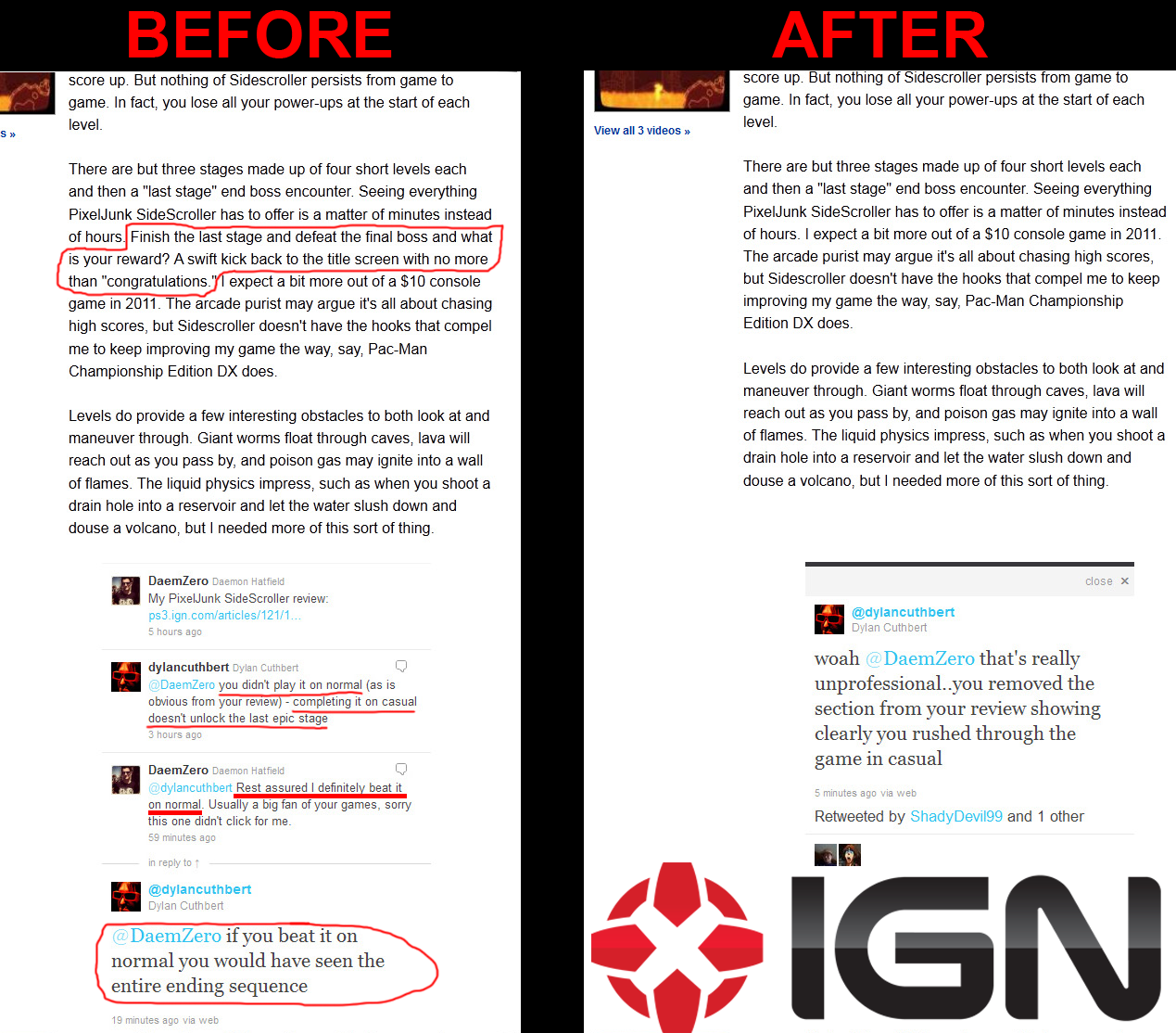 IGN fail