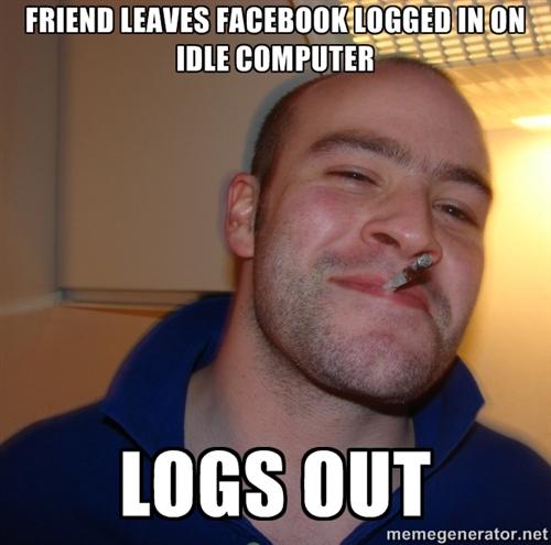 Good guy Greg Facebook