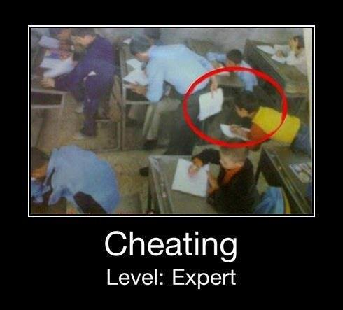 Cheating level expert