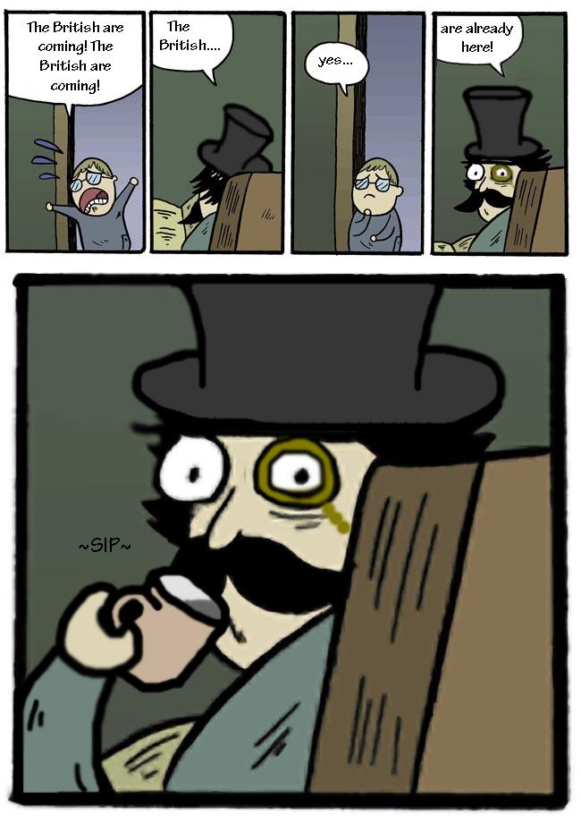 British dad