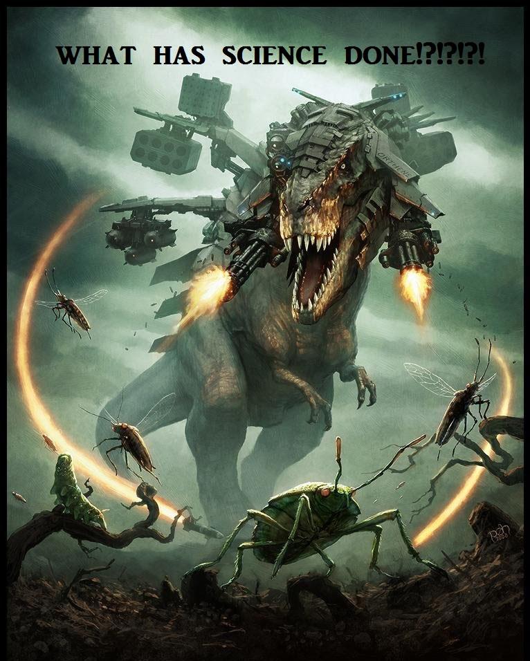 T-rex science