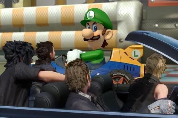 Final Fantasy XV vs Luigi