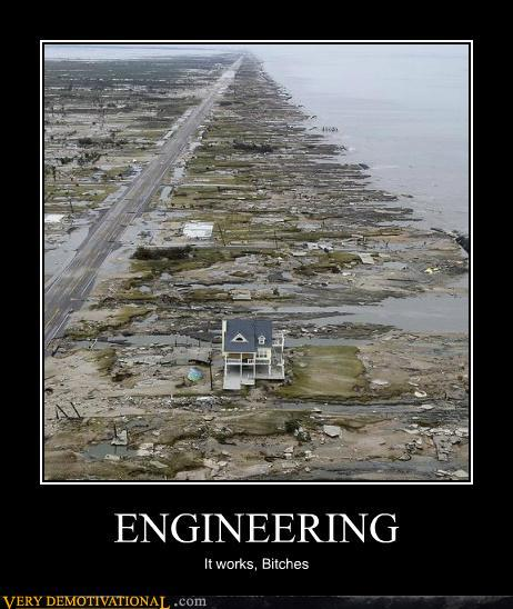 Engineering demotivational poster