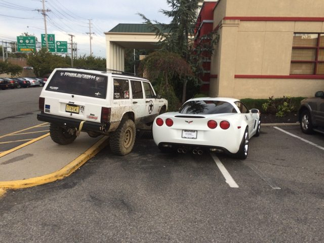 How to deal with a double-parked Corvette
