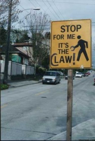 Stop for me it's the claw