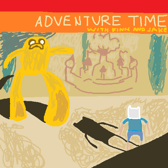 Adventure time album cover