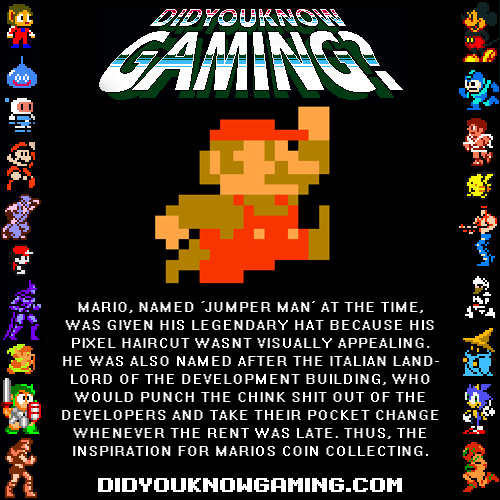 Did you know gaming Mario