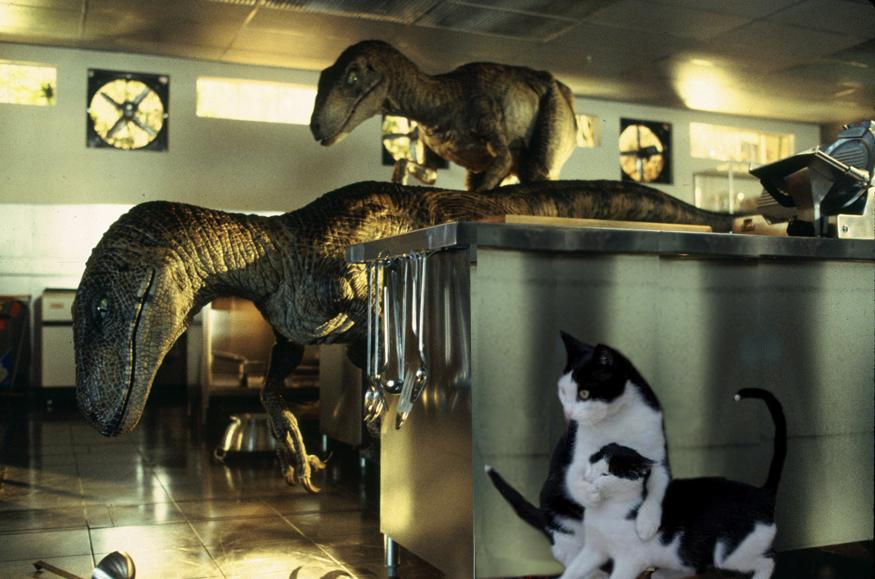 Jurassic Park cats